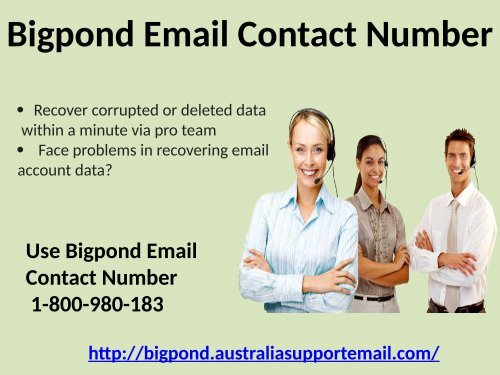 Avoid Spam By Using 1-800-980-183 Bigpond Email Contact Number