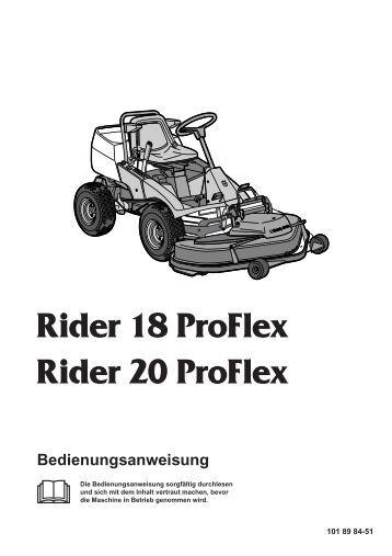 Husqvarna Rider Katalog