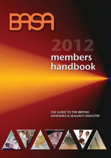 Members' Services - British Adhesives and Sealants Association ...