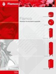 Flexcon Top Ausdehnungsgefäße für Drücke bis 6 bar. - Flamco