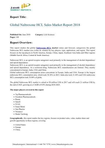 global-naltrexone-hcl-sales-market-report-2018-24marketreports