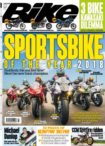 Bike mixed issue sampler - last updated Jul18