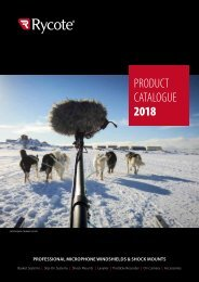 Rycote Product Catalogue 2018