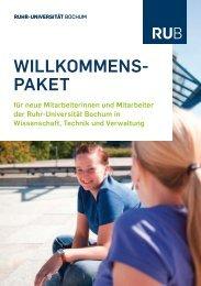 informationen rund um ihren arbeits- platz - der Verwaltung - Ruhr ...