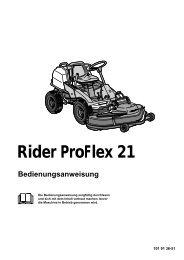 OM, Rider Proflex 21, 2001-01 - Husqvarna