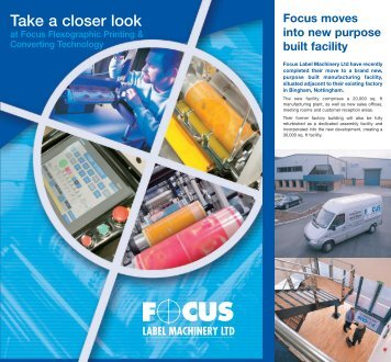 Focus Flexography Brochure - Focus Label Machinery, Ltd