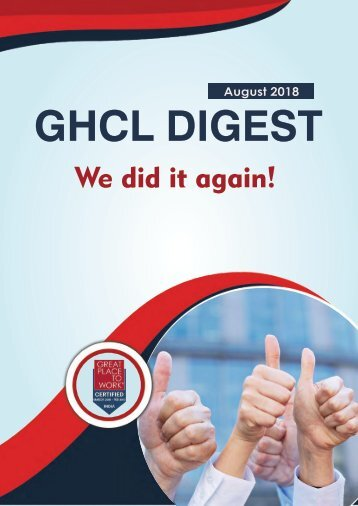 GHCL Digest AUGUST 2018