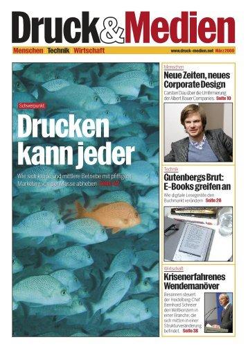 NeueZeiten,neues CorporateDesign GutenbergsBrut - Druck und ...