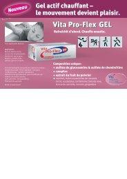 Vita Pro-Flex Gel - Vita Health Care AG
