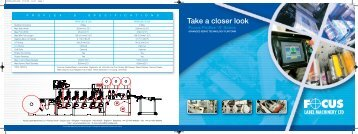 Focus Proflex 'S' - Focus Label Machinery, Ltd