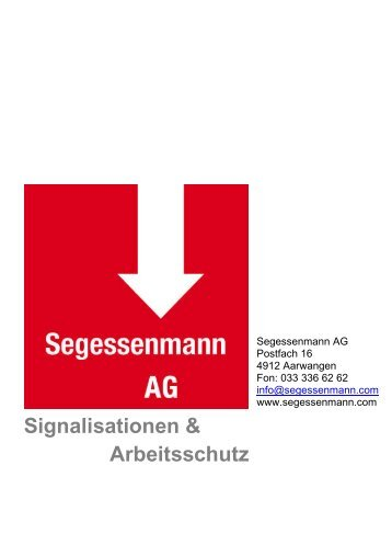 Augenschutz - Segessenmann AG