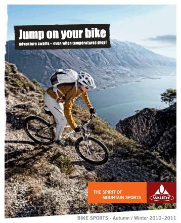 BIKE SPORTS - Autumn / Winter 2010 - 2011 - VAUDE - The Spirit of ...