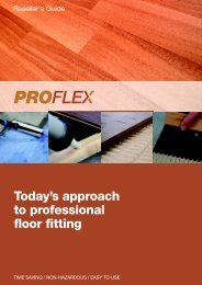 Proflex Product Range Brochure pdf. - A. B. Lewis Limited