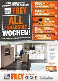 Interliving FREY - All Inklusive Wochen Küche August 2018