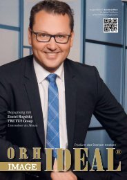 Orhideal IMAGE Magazin - August 2018