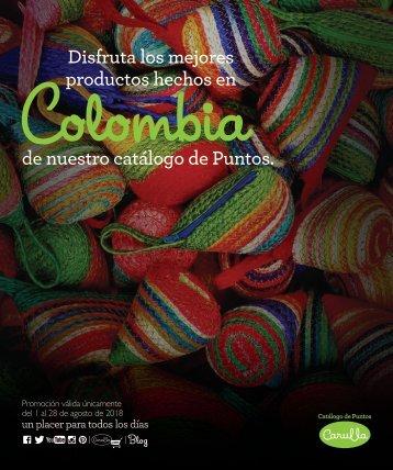 Catalogo Carulla es Colombia AGOSTO 30:7:18