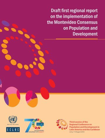 Draft first regional report on the implementation of the Montevideo Consensus on Population and Development