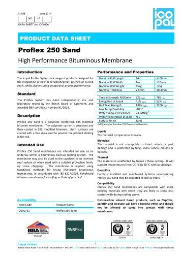 Proflex 250 Underlay - Icopal