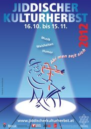 Folder zum Jiddischen Kulturherbst (PDF)