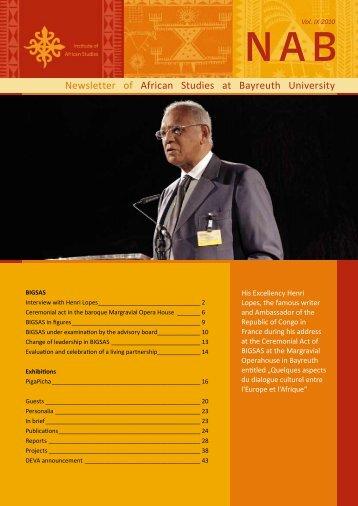 NAB VII - Institut für Afrikastudien