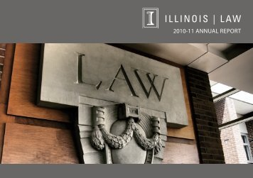 table of contents - College of Law