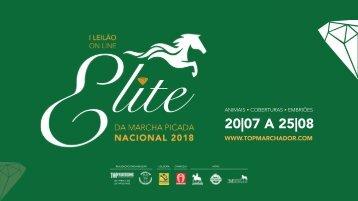 I Leilão Online Elite da Marcha Picada Nacional 2018