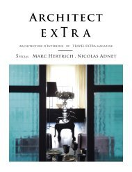 ARCHITECT EXTRA by TRAVEL EXTRA magazine