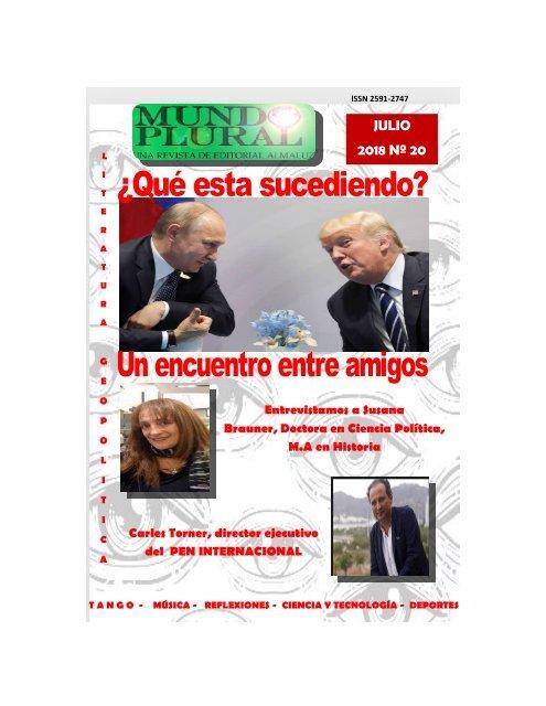 revista mundo plural julio