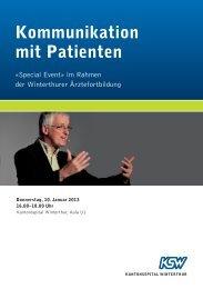 Flyer (PDF) - Kantonsspital Winterthur