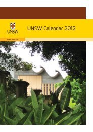 2012 Calendar arial.indd - myUNSW - The University of New South ...