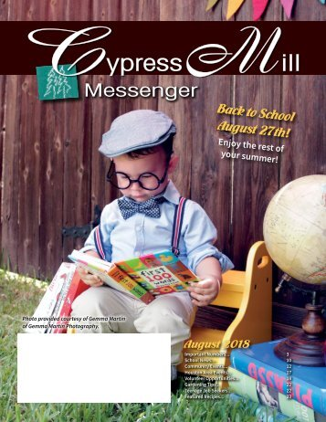 Cypress Mill August 2018