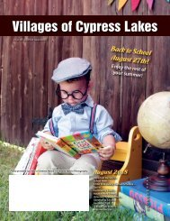 Villages of Cypress Lakes August 2018