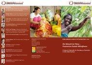 Der Mensch im Fokus – Faszination Soziale Mikrofinanz