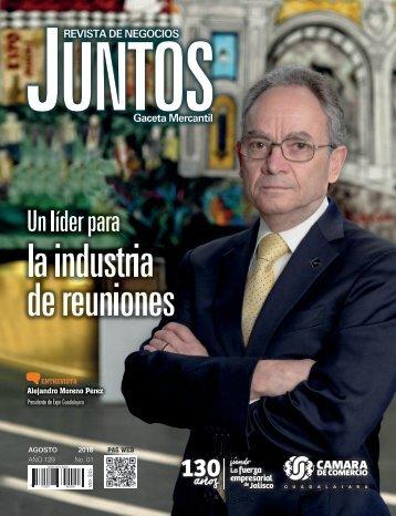 Juntos Gaceta Mercantil - Agosto 2018