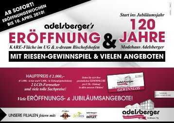 feiern mit - Adelsberger