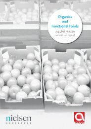 Organics and Functional Foods - Nielsen