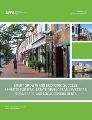 Smart Growth and Economic Success - US Environmental Protection ...