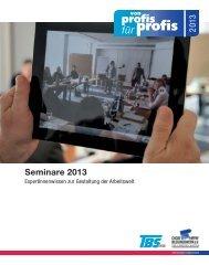 von profis für profis 2013 - DGB-Bildungswerk NRW e.V.