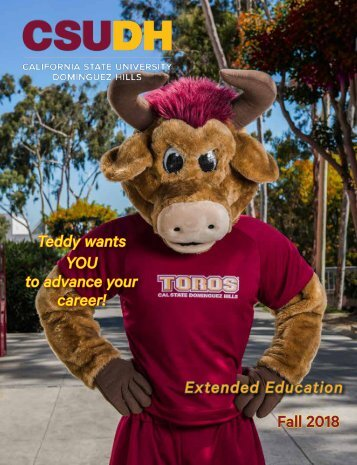 Fall 2018 CSUDH Extended Education Catalog (Interactive)