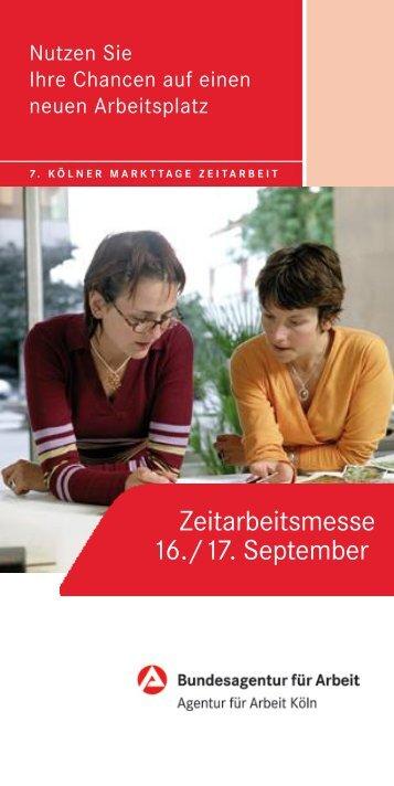 Zeitarbeitsmesse 16./17. September