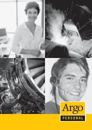PERSONAL - the argo group