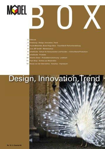 Design, Innovation,Trend - Model Holding AG