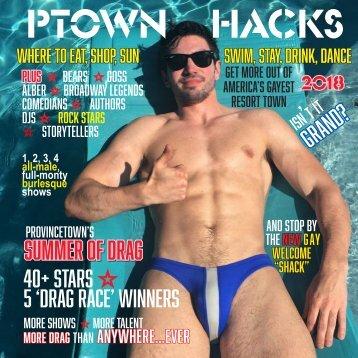 Ptown Hacks 2018 Digital Guide to America's Gayest Resort Town