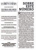La sirena varada: Año II, Número 9 - Page 2