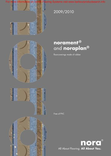 Norament and Noraplan Brochure - Barbour Product Search