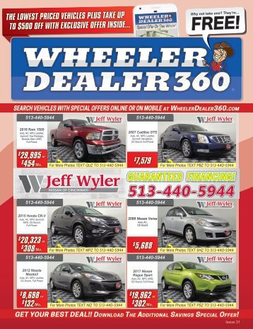 Wheeler Dealer 360 Issue 31, 2018