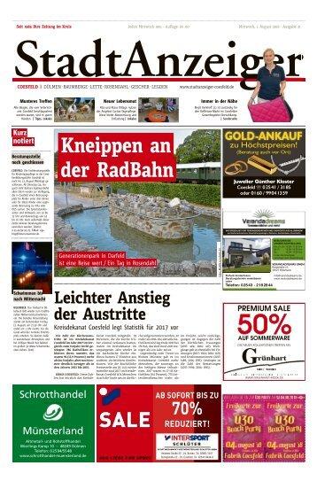 Stadtanzeiger Coesfeld kw 31