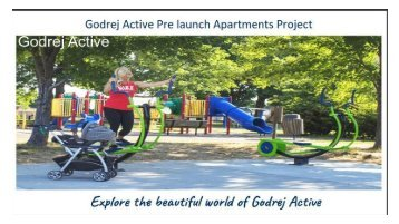 Godrej Active New Pre- Launch Project In Pune India