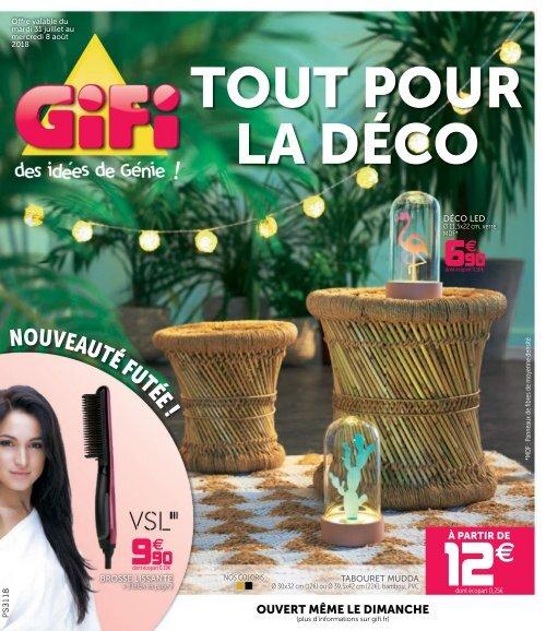 Gifi Catalogue 31 Juillet 8 Août 2018