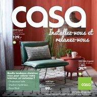 Casa catalogue 30 juillet-26 août 2018